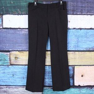 NY&CO Black White Stretch Polka Dot Dress Pants